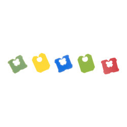 パッキングのための使い捨て可能で多彩で環境に優しいプラスチックパン袋クリップ