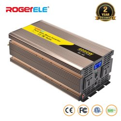 4000W/4kw 4000 Watt 12V/24V/48V DC à AC 110V/120V/220V/230V onde sinusoïdale pure de convertisseur de puissance solaire