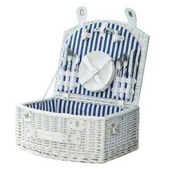 New Arrival Hot Design Wicker Picnic Basket Houd eten vers Drager Praktische Picknickmanden