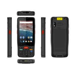 Ordinateur de poche PDA Android 9.0 industrielle Terminal de données scanner de code QR