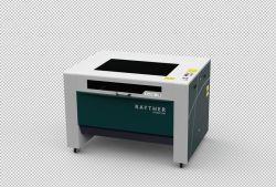 1390 플라스틱, 플렉시 유리, 고무, 패브릭용 레이저 인그레이빙/절단 기계