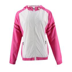 Poliéster grossista chineses Softshell Inverno Casaco exterior à prova de vento Sport Mulheres College Senhoras Jacket
