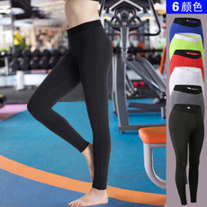 Senhora Desportos coloridos curto para Sportswear Calças de ioga