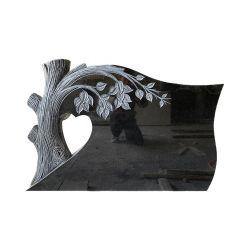 Venda por grosso de alta qualidade Monumento de Escultura em preto estilo americano lápides de granito