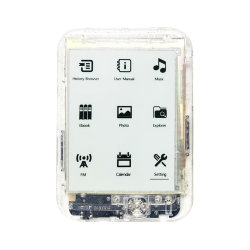 Caja transparente vehículo producto de la prisión de 6 pulgadas de pantalla de tinta E-Book Reader