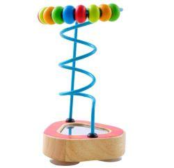나무로 되는 장난감 구슬 미로 작은 미러 구슬
