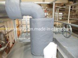 L'isolation thermique utilisé pour les tuyaux réutilisables de couvercles