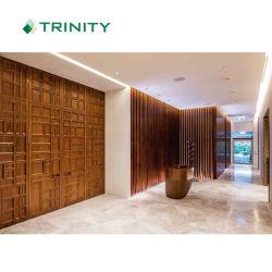 لوحة حائط خشبية ثلاثية الأبعاد من فندق مخصص لـ 5 فندق أربع نجوم مواسم