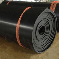 La orilla de una goma de nitrilo NBR 40-85 piso laminado para la industria de la Junta y otros productos de la resistencia de aceite