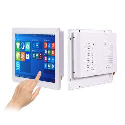 10.1인치 메탈 케이스 터치 디스플레이 COM LAN 포트 RJ45 S232 정전식 패널 터치 스크린 모니터