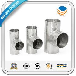 15mm galvanisé ASTM A105 Carbone soudure en acier inoxydable 304 Butt sch40 90 Degré 3 moyen du raccord de tuyau coudé droit T égal