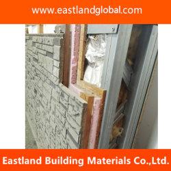 Eco-Friendly fibra de madeira tapume de cimento para paredes exteriores