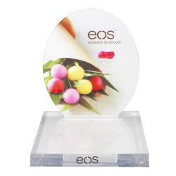 창조적인 디자인 탁상 플라스틱 진열대는 제품 전시 대중 음악 탁상용 표시 대를 반대한다