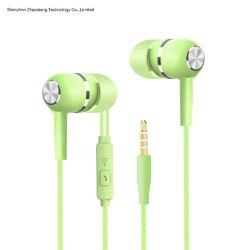 Проводные наушники 1,2 м глубоких басов стерео Спортивные наушники-вкладыши Headphonew/регулятор громкости микрофона для мобильного телефона