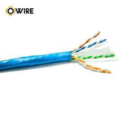 23AWG 305m grueso cable UTP CAT6 de alta calidad de cable de red