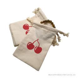 Custom малых хлопка Muslin специальный мешочек чехол с логотипом