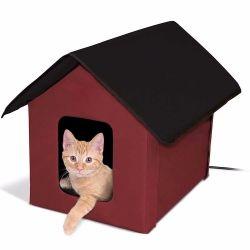 新しい方法赤いカスタム旅行またはホーム屋内屋外のかわいいペットFoldable猫によって熱される家の動物ペット家袋を手搬送