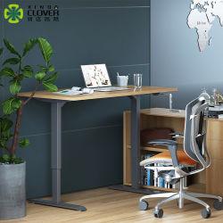 Muebles de oficina de diseño moderno de pie altura ajustable de pie sentarse Oficina
