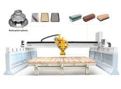 Qdm-1800橋単一のヘッド石造りのタイルのスラブ床磨く機械