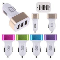 Neuer gestarteter Portauto-Aufladeeinheit der energien-3 schneller USB-Aufladeeinheits-Adapter