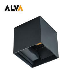 Alva 広ビームおよび狭ビーム角度調整可能アップダウン LED 壁灯