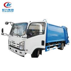 Isuzu 7000 van 7tons van het Huisvuil Liter van de Vrachtwagen van de Pers voor de Inzameling van het Afval