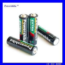 Vida longa R6 AA 1,5V zinco-carbono Bateria para Ferramenta Electrónica