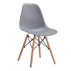 مصنع بازو بالجملة السعر المعادن الخشب ساق الحمراء منزل كرسي الطعام المصنوع من البلاستيك والأثاث