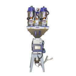 소성 물질 섞기를 위한 중량 측정 믹서 기계