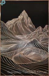 Mur de verre de l'image Peinture d'art de décoration murale (MR-YB6-2050B)