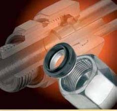 NBRのシールまたはリングが付いているEo Nl10 Nl22 Durの機能ナット