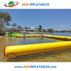 Надувной бассейн с плавающей запятой для яхт, гигантские надувные бассейны, надувной бассейн