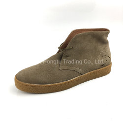 La dentelle-jusqu'à la main occasionnels Chaussures pour hommes marchant desert boots