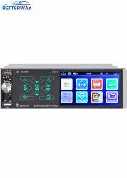 راديو سيارات بلاير ستريو يونيفرسال 4.1 بوصة MP5 مشغل DVD مع تحكم صوتي ذكي بتقنية Bluetooth Ai