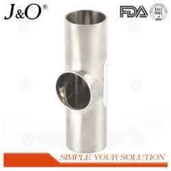 BSのステンレス鋼の衛生学のポーランドの表面の溶接ティーの管付属品