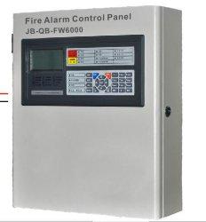 Commerce de gros Intelligent analogique du panneau de commande de détection de fumée Alarme incendie adressables Panneau de configuration système