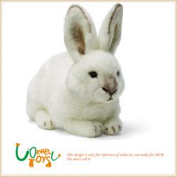 인형 푹신한 사랑스러운 토끼를 채우는 주문을 받아서 만들어진 견면 벨벳 동물 장난감
