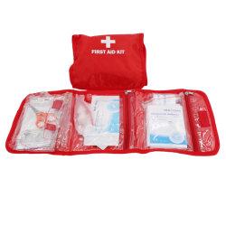 La FDA ISO de fábrica China OEM Ce personalizado Venta caliente casa portátil de emergencia Kit de primeros auxilios