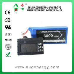 Het navulbare OEM 6000mAh 30c 35c Pak van de Batterij van het Lithium Ionen