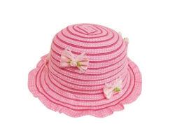 공장 새로운 디자인 0-24m Pater 끈목 꽃 아기 아이들 모자