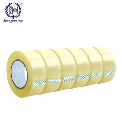 Custom BOPP transparente claro Cinta adhesiva de la OPP en silencio sin ruido Boop fácil rasgar la cinta de embalaje