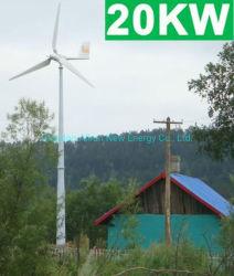 Vollständiges Gerät auf Rasterfeld weg Wind-vom hybriden Energien-Wind-Tausendstel-/Wind-Turbine-Generator des Rasterfeld-20kw 30kw rief auch Wind-Generator