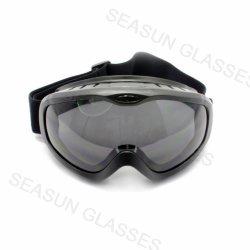 Occhiali di protezione di sicurezza protettivi del laboratorio dello schermo della saldatura dell'inserto dell'obiettivo grigio antinebbia del nuovo prodotto