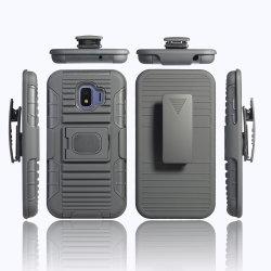 3 в 1 держатель для автомобиля для тяжелого режима работы ПК TPU броня зажим для ремня для сотового телефона Samsung J2 Core