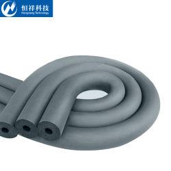 Tube de caoutchouc isolant pour climatiseur réfractaire d'isolation thermique des matériaux isolants