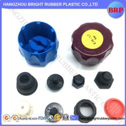 Haute qualité OEM diverses formes de capuchon en plastique noir