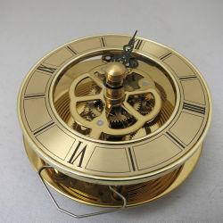 2018년 골드 컬러 시계, 스켈레톤 시계 삽입 이동 동관