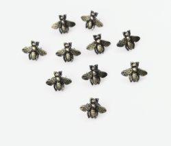 Nouvelle Mode 3D en alliage de laiton antique Bee boucle pour la confection, de chaussures