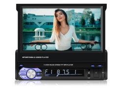 Universal 7 pulgadas escamoteables portátiles de MP5 Reproductor de DVD para coche 9601