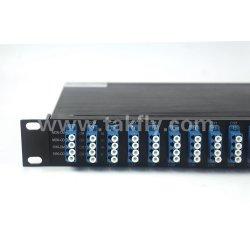 Multiplexage DWDM 40CH AWG 1u type de montage en rack 19 pouces